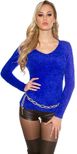 WeaModa - Jerséi - para mujer azul real