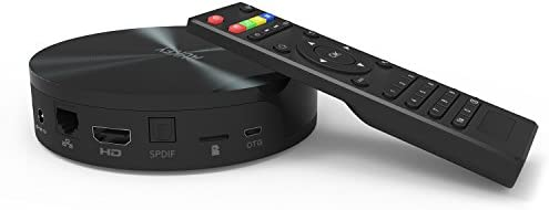 Aukey S82 Smart TV Box Android 4.4 Quad Core mini PC / TV Box / 4K (UHD) Media Player / Smart TV Box (2GB RAM,8GB ROM,Bluetooth 4.0,1080p,HDMI Output,Streaming Media Player,Bluetooth 4.0,Con AV
