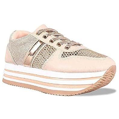 Z. Emma Womens Sneakers Size: 5 Rosegold