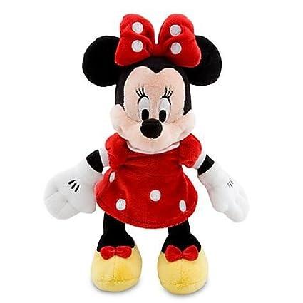 Amazoncom Disney Minnie Mouse Plush Red Mini Bean Bag 9 14