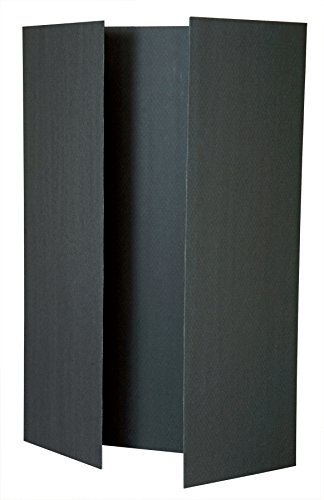 (Pacon Presentation Board Presentation Display Booth, Black, 48x36-Inches (3862))