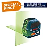 Bosch 75' Green-Beam Self-Leveling Cross-Line Laser GLL75-40G