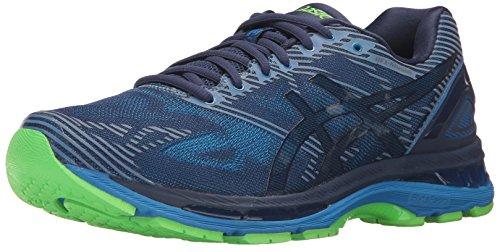 ASICS Mens Gel-Nimbus 19 LITE-Show Running Shoe, Indigo Directoire Blue/Reflective, 9.5 Medium US