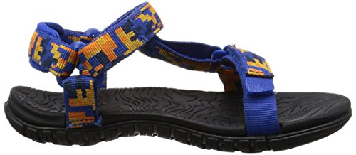 Teva blue 3 Orange Hurricane De Sandales Randonnée Digital Camo Fille rprWzT