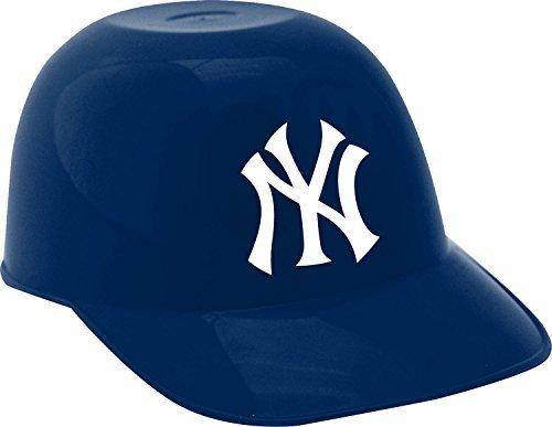 MLB Mini Batting Helmet Ice Cream Sundae Snack Helmet Bowls - New York Yankees - 10 - Baseball Sox Mini Helmet