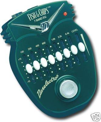 - Danelectro DJ-14C Fish & Chips 7 Band EQ Mini Effects Pedal