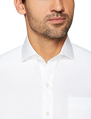 Buttoned Down Men's Tailored Fit Plaid Non-Iron Dress Shirt