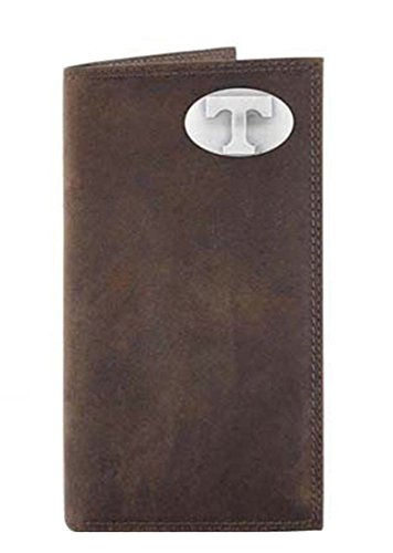 Tennessee - Leather Crazy Horse Brown Long Roper Wallet