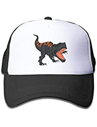 The Fierce Dinosaur Children's Sun Protection,Casual,Summer Baseball Adjustable Mesh Hat Cap
