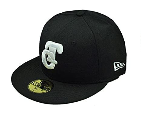 New Era 59fifty Fitted Hat Pacific League Tomateros De Culiacan Men s Cap  Black white ( fa7b9976b60