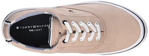 Tommy Hilfiger Damen Textiel Lichtgewicht Sneaker Pink (stoffig Nam 502)
