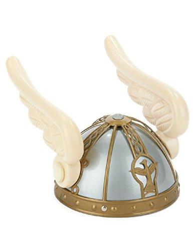 [Winged Viking Helmet Greek God Hermes Helmet Celtic Pegasus Plastic Costume] (Egyptian Gods Costume For Kids)