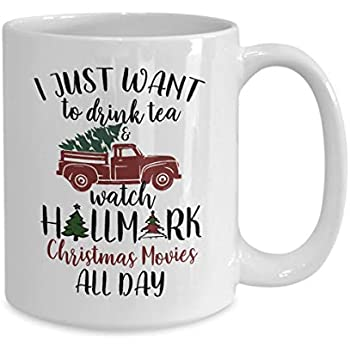 Amazon Com Funny Hallmark Christmas Movie Mug Drink Tea
