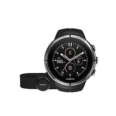Suunto Spartan Ultra Black (HR) Multisport GPS Watch (SS022658000)