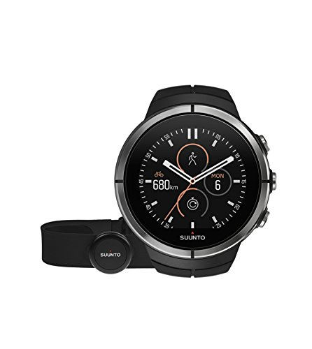 Suunto Spartan Ultra Black HR - Multisport GPS Watch