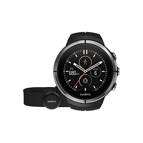 chollos oferta descuentos barato Suunto Spartan Ultra Black HR SS022658000 Reloj Multideporte GPS Cinturón de frecuencia cardiaca Talla M Talla única