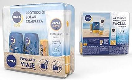 NIVEA Sun Pack Minis Solares - 150 ml: Amazon.es: Belleza