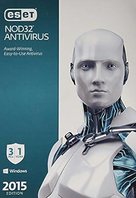 ESET NOD32 Antivirus 2015 - 3 PCs