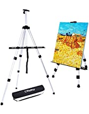 Ohuhu 1 Pack Easel Silver 63 Inch with Bag