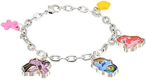 My Little Pony Twilight Rainbow Pinkie 5 Charm Bracelet