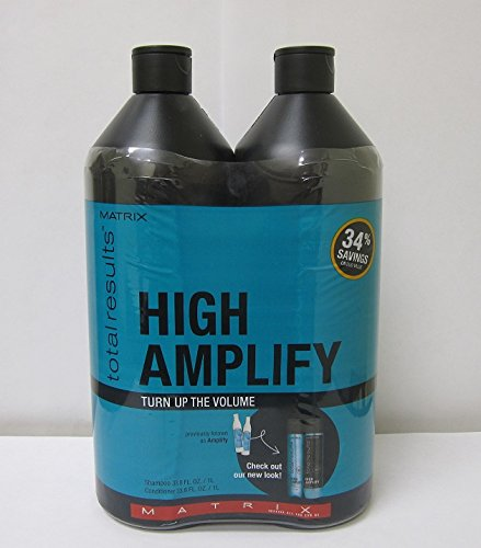 Matrix Total Results High Amplify Volume Shampoo and Conditioner, 1 Liter each ()