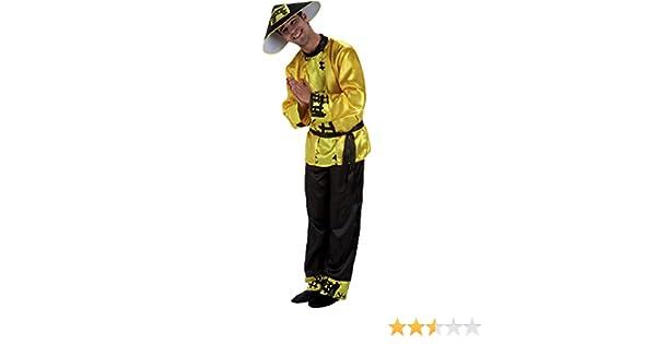 Disfraz Chino Adulto: Amazon.es: Juguetes y juegos