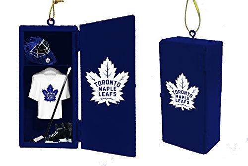 Toronto Leafs Locker Maple Room (Team Sports America Toronto Maple Leafs Team Locker Ornament)