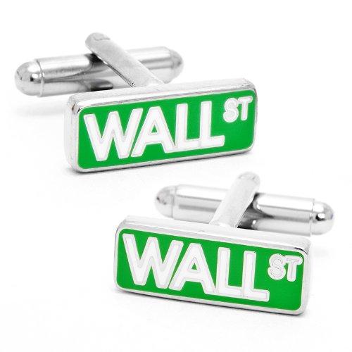 Cufflinks Inc. Men's Wall Street Sign Cufflink