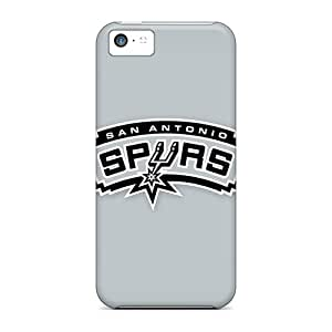 Awesome Case Cover/iphone 5c Defender Case Cover(nba San Antonio Spurs 4)