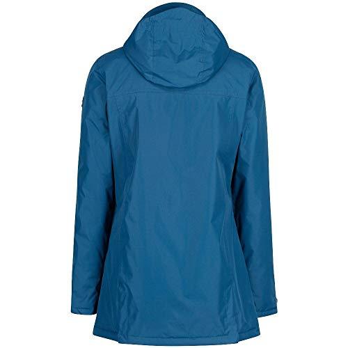 Mujer Chaqueta Regatta Waterproof Insulated Majolica Hooded Blue Mylee 8qxZ7wTz
