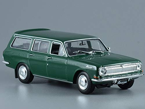 GAZ-24-02 Volga Green 1972 Year Soviet Station Wagon USSR 1/43 Scale Collectible Model Car