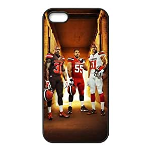 Cleveland Browns iPhone 4 4s Cell Phone Case Black 218y3-155586