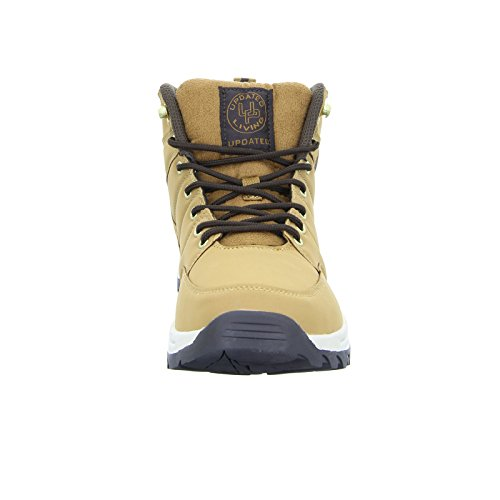 Updated Sneaker living High Outdoor Herrenschuhe Braun Wanderschuh a7wqqg