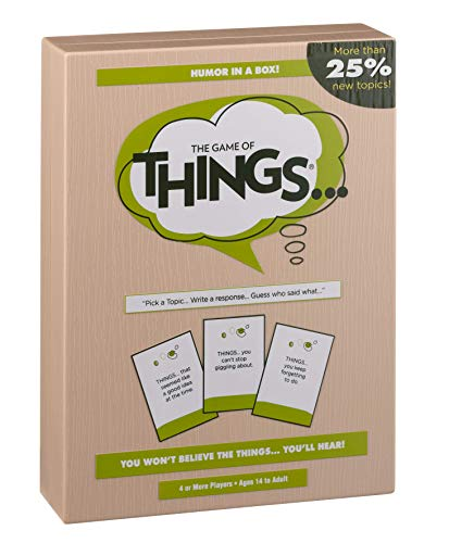 The Game of Things... New Edition with More than 25% New Topics (Swish Card Game)