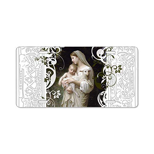 Mable Foster Cjx Innocence Front Metal Aluminum License Plate Vanity Car Tag Home Door Sign 6 X 12 with 4 Holes