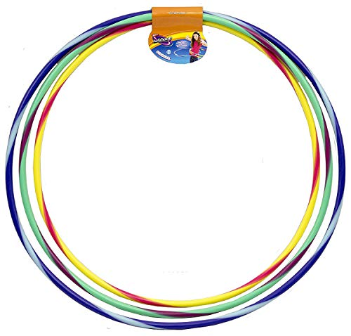 Wham-O Original Assorted Colors and Sizes Hula Hoop Set with plastic bearings ()