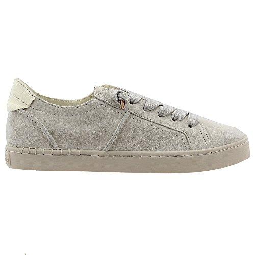 Dolce Vita Donna Sneaker Moda Zalen Camoscio Grigio Chiaro