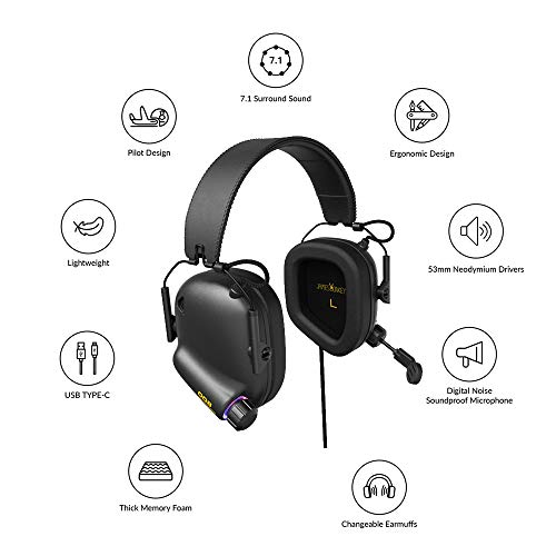 Amazon Com Newest 2019 Game Headsets Tactical Master For Ps3 Ps4