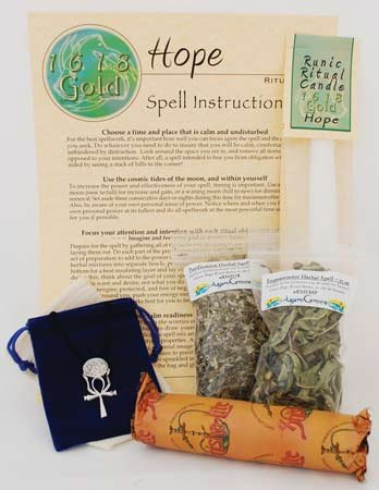 Fortune Telling Toys Magic Spell Kit Hope Find Ray of Light in Darkness