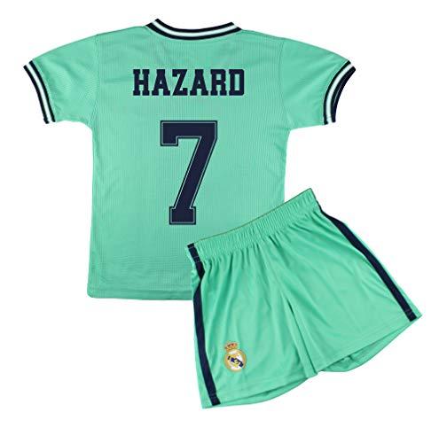 Champion's City Kit Camiseta y Pantalón Infantil Tercera Equipación – Real Madrid – Réplica Autorizada – Jugadores