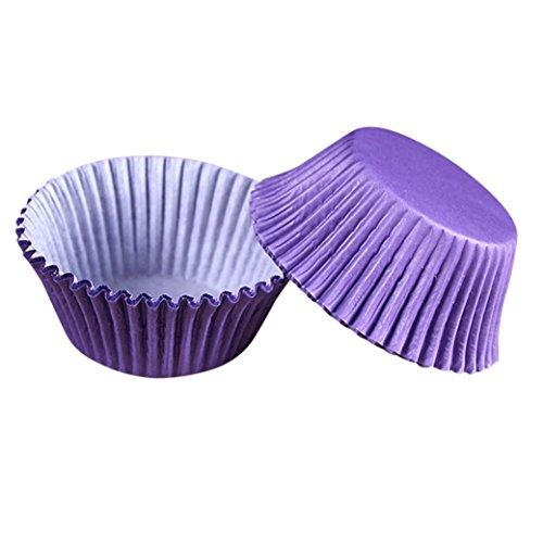 Kanzd 100 PCS Cake Liner Cake Muffin Case Moon Cake Box Paper Box Cup Cake Decorator Tool (F)