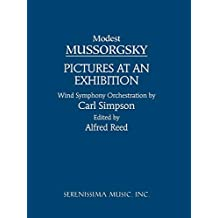 Pictures at an Exhibition - Wind Orchestra: Study score