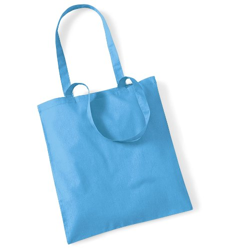 """Westford Mill- Promoción bolsa básica """"Bolsa para la vida""""- capacidad 10 litros multicolor - Bleu clair"""