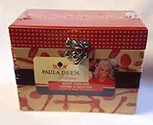 """paula Deen"" Recipe Card Box"