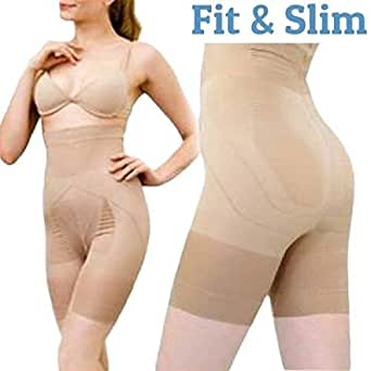FitxSlim IG100294, Faja Moldeadora para Mujer, Beige, 34 (Tamaño del fabricante:M)