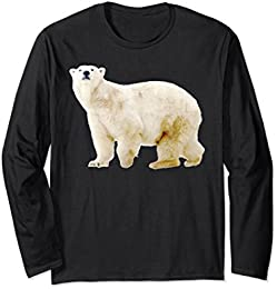 Long Sleeve Polar Bear T-shirt