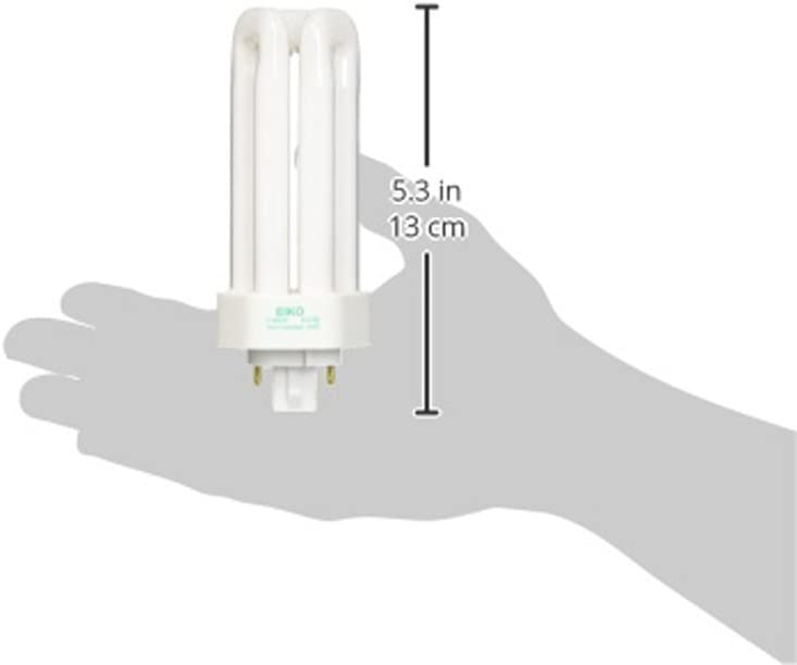 Eiko TT26//27 26W Triple-Tube 2700K GX24q-3 Base Fluorescent,
