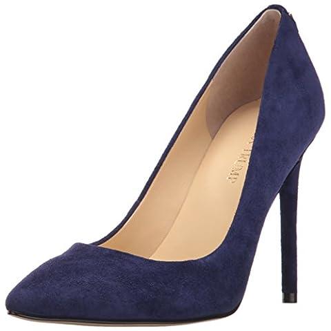 Ivanka Trump Women's Kayden4 Shoe, navy suede, 8 Medium US - Blue Suede Pump Shoes