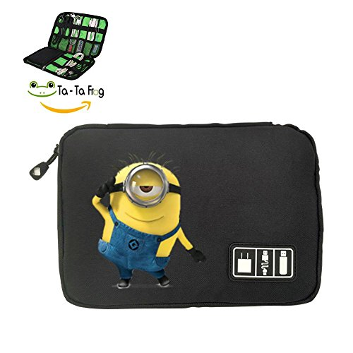 Minion Salute Electronics Accessories Travel Bag Buggy Storage Bag Cases