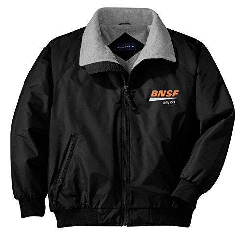 Daylight Sales BNSF Swoosh Embroidered Jacket Adult L [48] Black ()